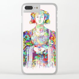 Anne of Cleves Clear iPhone Case