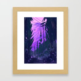 Clearing Framed Art Print