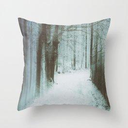 A Bleak Midwinter Throw Pillow