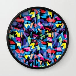 Post Modern Abstract Play Wall Clock