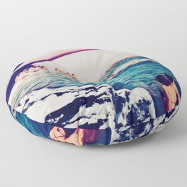 Spa of Saturn Floor Pillow