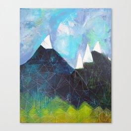 Matterhorn Cirque Mountain Peaks Canvas Print