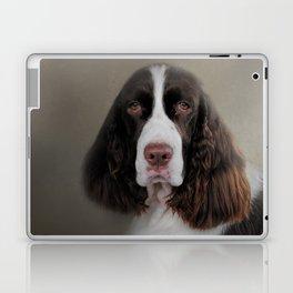 Waiting Patiently - English Springer Spaniel Laptop & iPad Skin