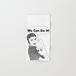 We Can Do It!  |  Women Power Hand & Bath Towel