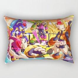 Rockman Team Rectangular Pillow