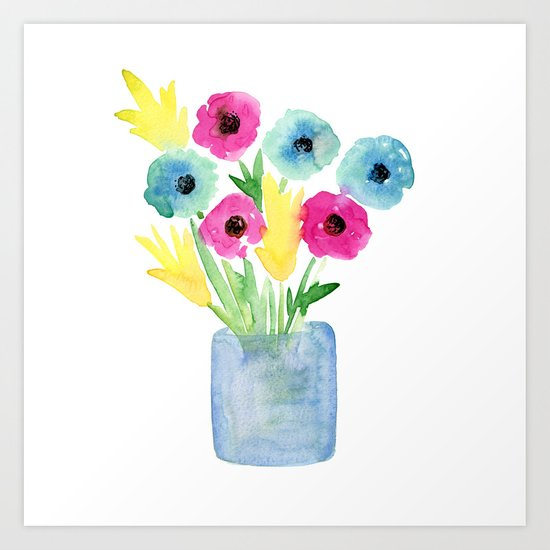 Flowers 04 Art Print