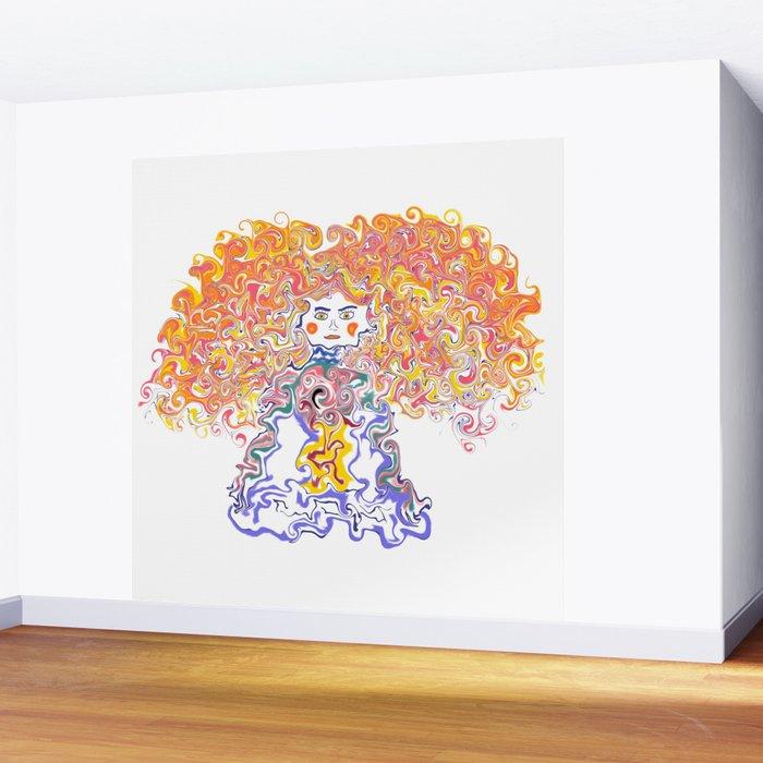 Rainbow Body Wall Mural