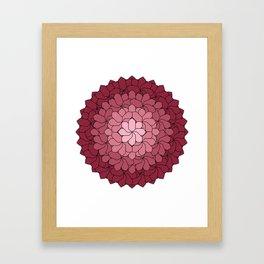 Misty Bouquet Framed Art Print