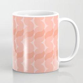 Ropes in Coral Coffee Mug