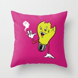 Bulby Throw Pillow
