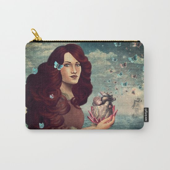 Butterflies in my heart Carry-All Pouch