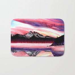 Sunset Mountain Bath Mat