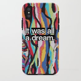 """""""It Was All A Dream"""" Biggie Smalls Inspired Hip Hop Design iPhone Case"""