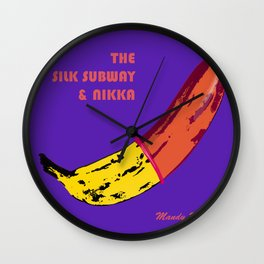 The Silk Subway & Nikka Wall Clock