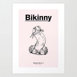 Summer Dicks No. 3 Art Print