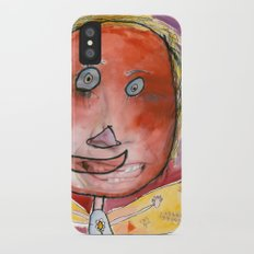 I feel excited iPhone X Slim Case