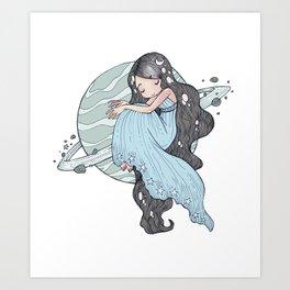 Saturnina Art Print