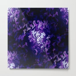 Purple Cabbage Patch.... Metal Print