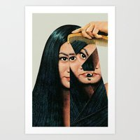collage Art Prints featuring Normalization by Eugenia Loli