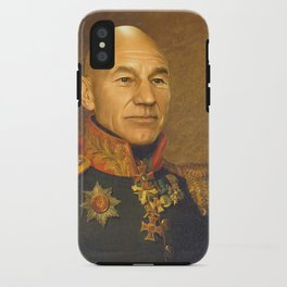 Sir Patrick Stewart - replaceface iPhone Case