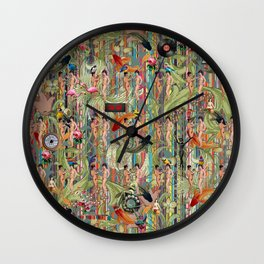 Another Relaxing Sunday Wall Clock