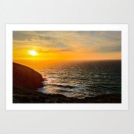 Coast of California Art Print