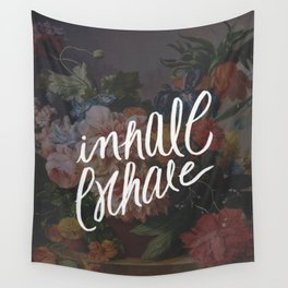 INHALE/EXHALE Wall Tapestry
