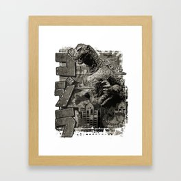1954 Pop Framed Art Print