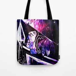 Blackhawks_nightsky Tote Bag