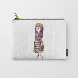 People of Thailand - Bored Hmong Girl  Carry-All Pouch