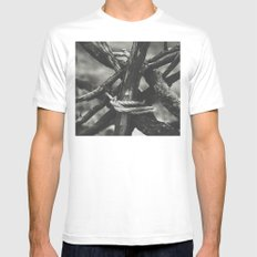 Taboo MEDIUM White Mens Fitted Tee