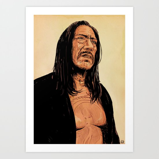 Danny Trejo Art Print