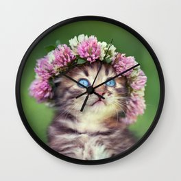 Just Like an Angel Wall Clock