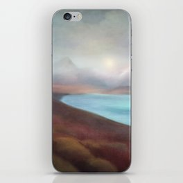 Minimal abstract landscape IV iPhone Skin