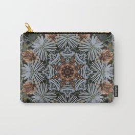 Spruce Cones And Needles Kaleidoscope K4 Carry-All Pouch