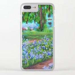 Monet's Garden AC20110715a Clear iPhone Case