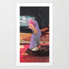 fresh monk Art Print