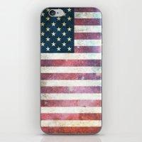 patriotic iPhone & iPod Skins featuring PATRIOTIC by alfboc