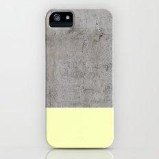Yellow on Concrete iPhone (5, 5s) Slim Case