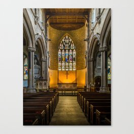 St Lawrence Hungerford Canvas Print