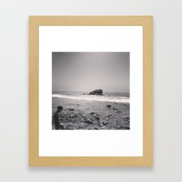 Boy in Leo Carrillo Framed Art Print