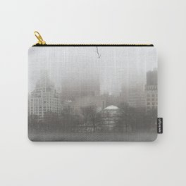 Central Park in Fog Carry-All Pouch