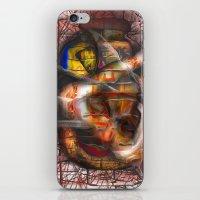 lantern iPhone & iPod Skins featuring Lantern by John Hansen
