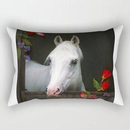 For the Roses Rectangular Pillow