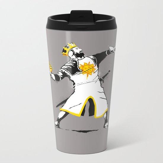 Banksy Python 1-2-5 Metal Travel Mug