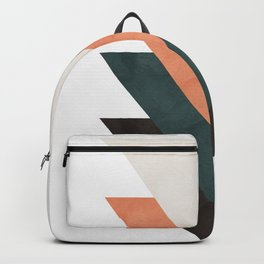 Abstract Triangles Backpack