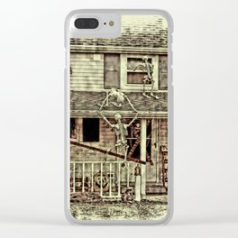 Don't Open The Window! Clear iPhone Case