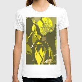 Autumn leaves bathing in sunlight #decor #society6 T-shirt