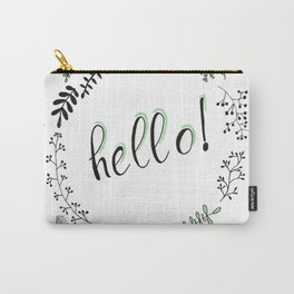 Hello! Carry-All Pouch
