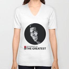 The Greatest  Ali Unisex V-Neck